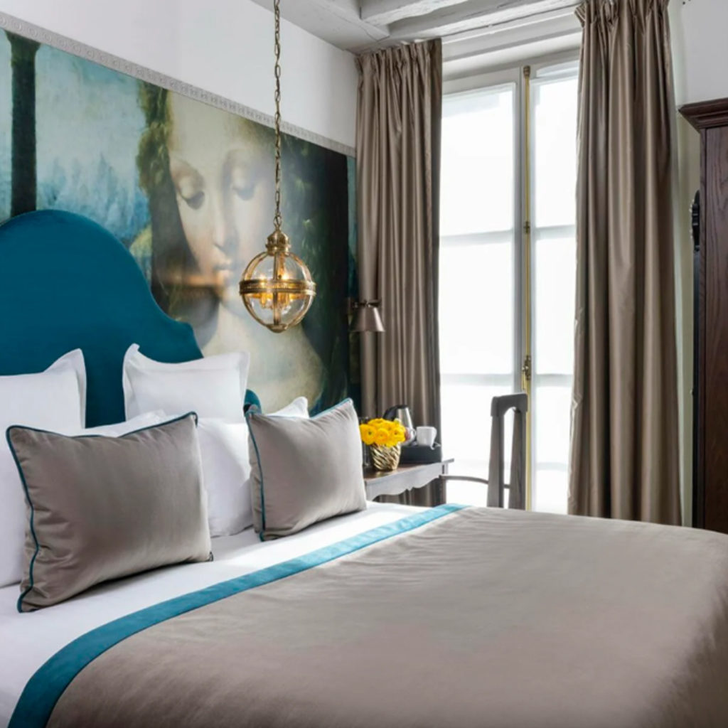 chambre hotel agencement